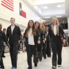 Photo of the day: Volleyball players depart for state tourney