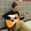 Video: Junior Ryan Romero plays music to distract from school, bond with friends