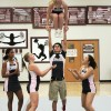 Q&A: Sophomore Jaden Schmidt on his experience as male cheerleader