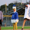 Baseball plays first annual costume game for cystic fibrosis charity