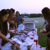 Seniors meet at dawn to commemorate final year with sunrise tradition