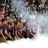 Gallery: Tigers celebrate armed forces, volleyball and football teams
