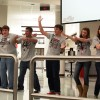 Gallery: Ensemble choirs entertain lunches with Halloween-inspired songs